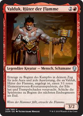 Valduk, Hüter der Flamme
