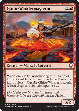 Ghitu-Wandermagierin