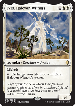Evra, Halcyon Witness