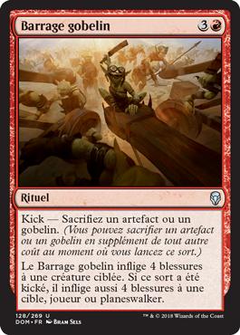 Barrage gobelin