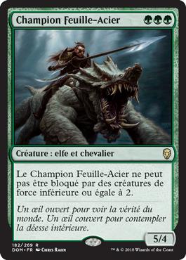 Champion Feuille-Acier