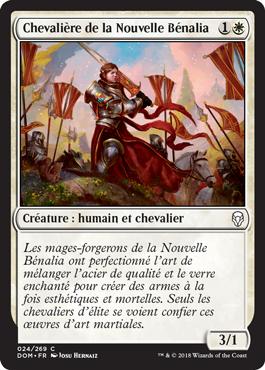 Chevalière de la Nouvelle Bénalia