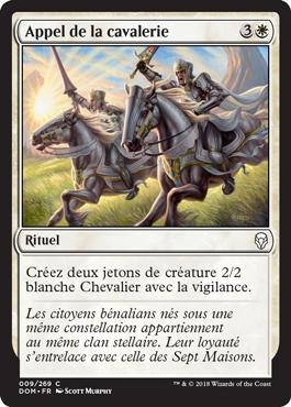 Appel de la cavalerie