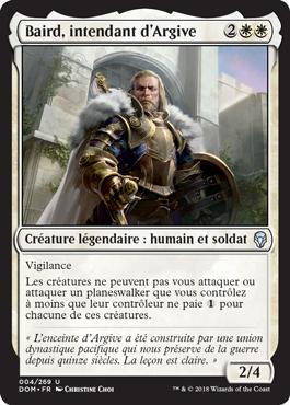 Baird, intendant d'Argive