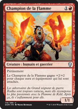 Champion de la Flamme