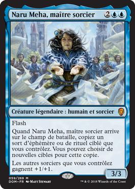 Naru Meha, maître sorcier