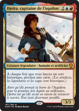 Djoïra, capitaine de l'Aquilon