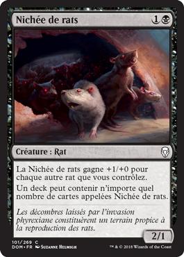 Nichée de rats