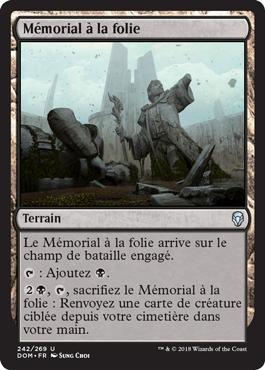 Mémorial à la folie