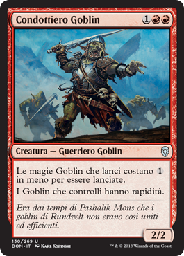 Condottiero Goblin