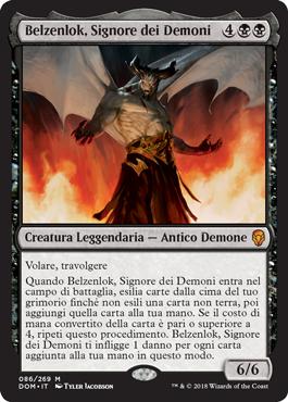 Belzenlok, Signore dei Demoni