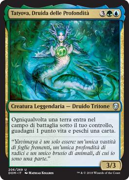 Tatyova, Druida delle Profondità
