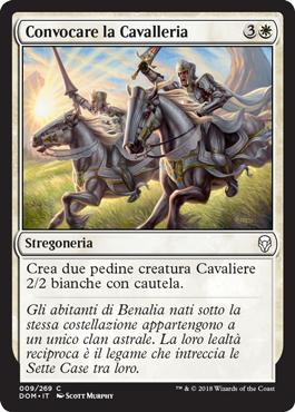 Convocare la Cavalleria