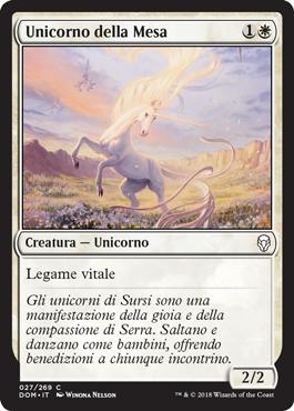 Unicorno della Mesa