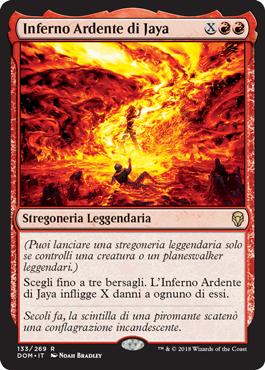 Inferno Ardente di Jaya