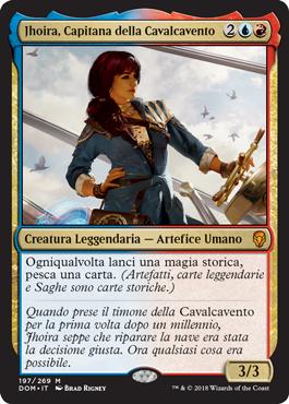 Jhoira, Capitana della Cavalcavento