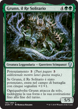Grunn, il Re Solitario