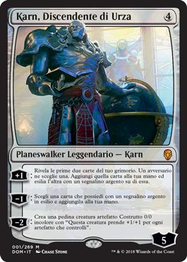 Karn, Discendente di Urza