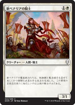 新ベナリアの騎士