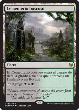Cementerio boscoso