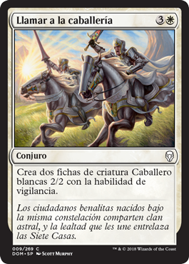 Llamar a la caballería