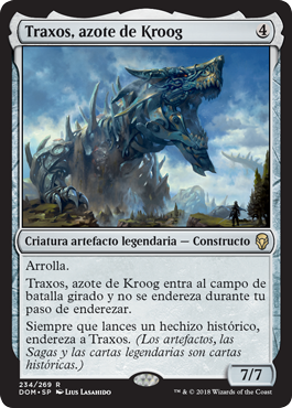 Traxos, azote de Kroog