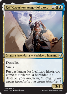 Raff Capashen, mago del barco