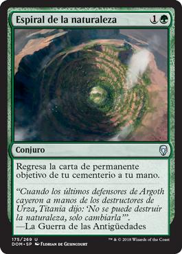 Espiral de la naturaleza