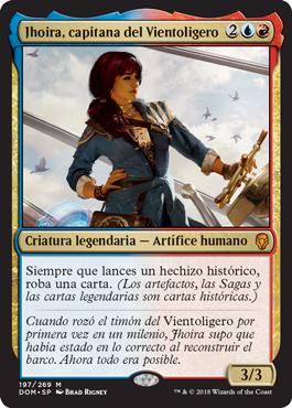 Jhoira, capitana del Vientoligero