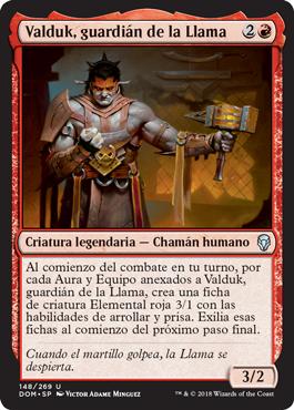Valduk, guardián de la Llama