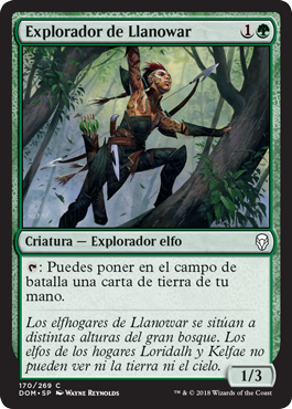Explorador de Llanowar