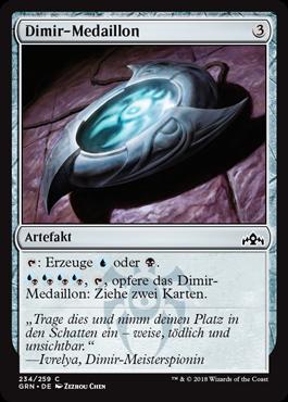 Dimir-Medaillon