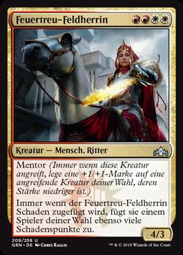 Feuertreu-Feldherrin