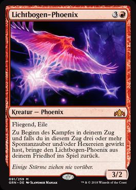 Lichtbogen-Phoenix