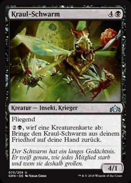 Kraul-Schwarm