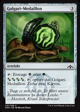 Golgari-Medaillon
