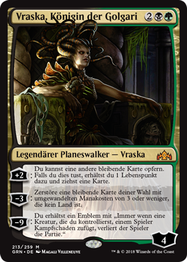 Vraska, Königin der Golgari