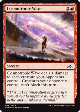 Cosmotronic Wave - Magic: the Gathering