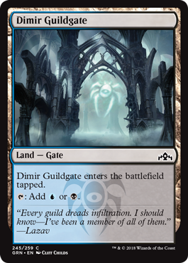 Dimir Guildgate (a)| My Pop Culture | New Zealand
