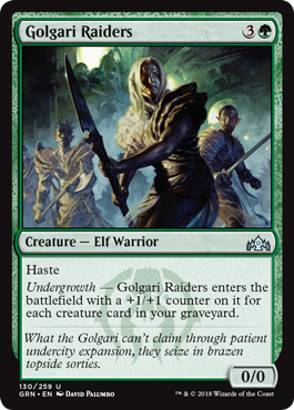 Image of Golgari Raiders
