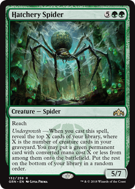 Hatchery Spider - Magic: the Gathering