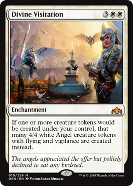Divine Visitation - Magic: the Gathering