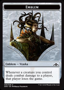 Emblem (Vraska, Golgari Queen)