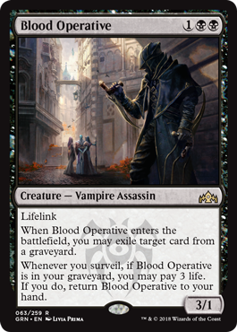 Blood Operative - Magic: the Gathering