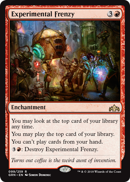 Experimental Frenzy - Magic: the Gathering