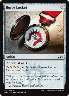 Image of Boros Locket