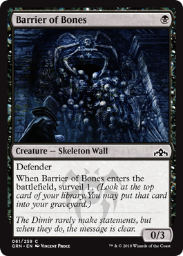 Barrier of Bones