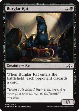 Image of Burglar Rat