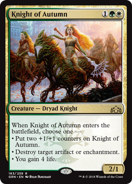 Image of Knight of Autumn