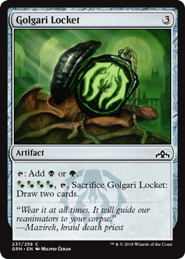Image of Golgari Locket